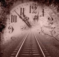 horloge train